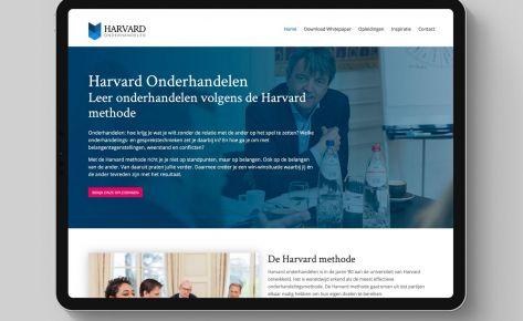 Website voor Harvard Onderhandelen