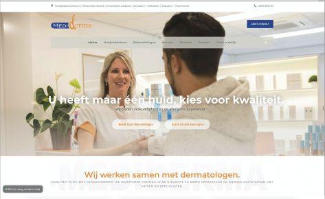 Nieuwe website en webshop Mediderma