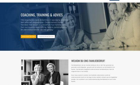Logo, website & fotografie voor Familiezaken