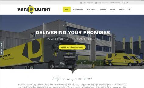 Website voor Van Duuren