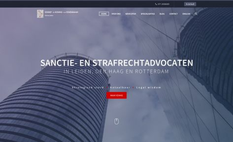 Ontwerp & bouw website SKE Advocaten