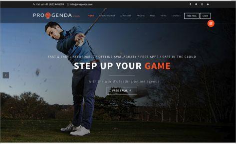 Website voor Proagenda.com